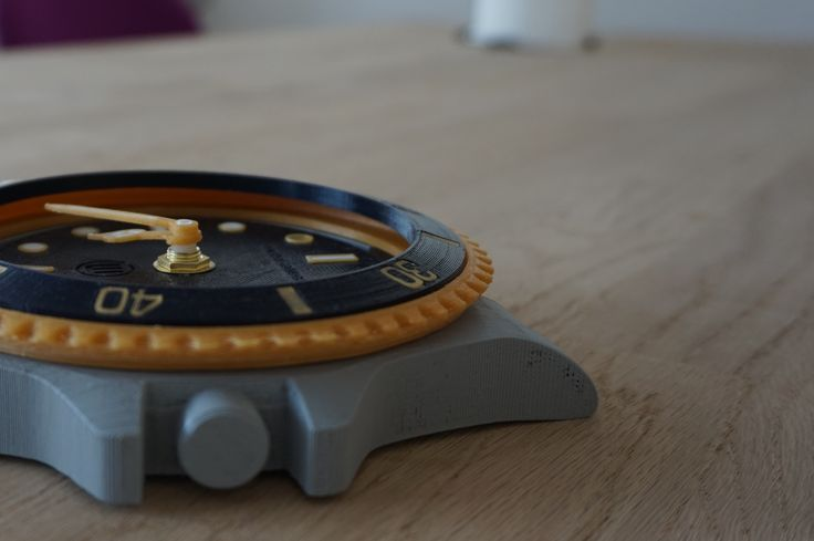 3D printet ur