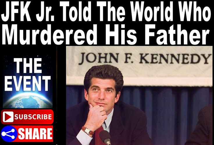 Published on Aug 11, 2016 - JFK Jr. Told The World Who Murdered His Father – But Nobody Was Paying Attention.