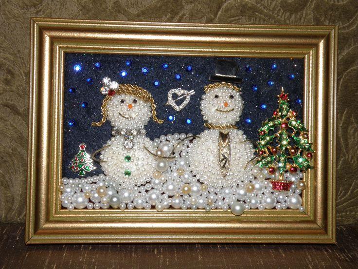 Vintage Jewelry Snow Love