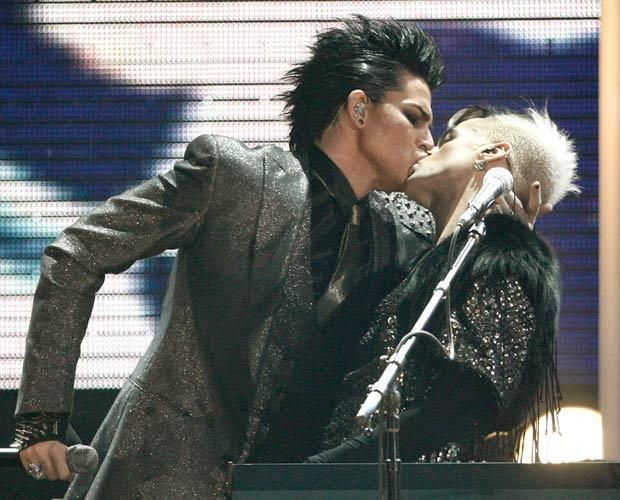 adam lambert boyfriend kissing - Google Search