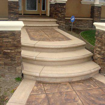 best 25+ stamped concrete walkway ideas on pinterest   stamped ... - Stamped Concrete Ideas Patios