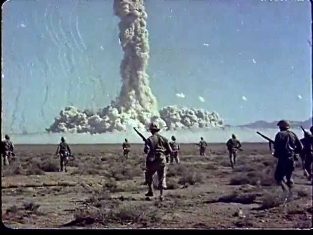 Shocking Footage Of Nukes Being Tested On Marines (Watch)