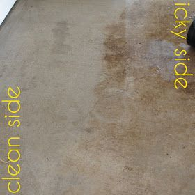 25 Best Ideas About Concrete Cleaner On Pinterest Diy