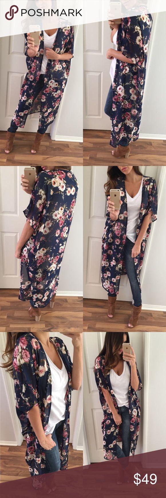 Best 25  Floral kimono ideas on Pinterest | Kimono cardigan ...