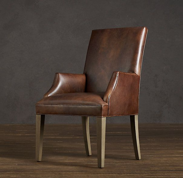 417 Best Society Hill Denhome Office Images On Pinterest Amusing Leather Dining Room Chairs With Arms Review