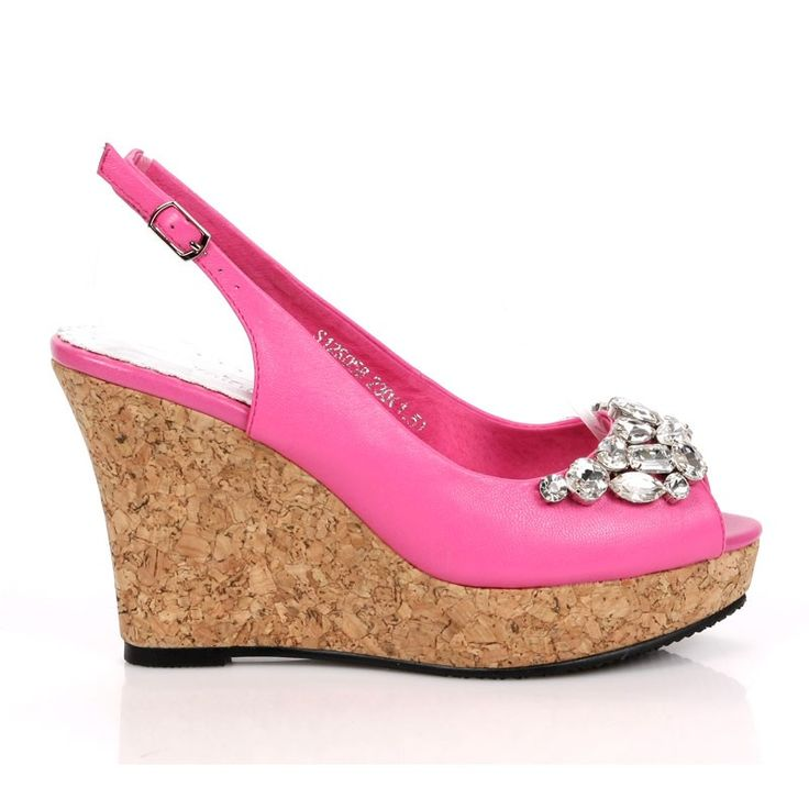 17 best images about pink wedges on peep toe
