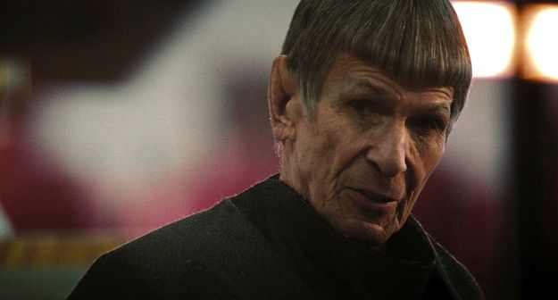 "10. The Return of (Old) Spock | 10 Classic Star Trek References In ""Star Trek Into Darkness"""