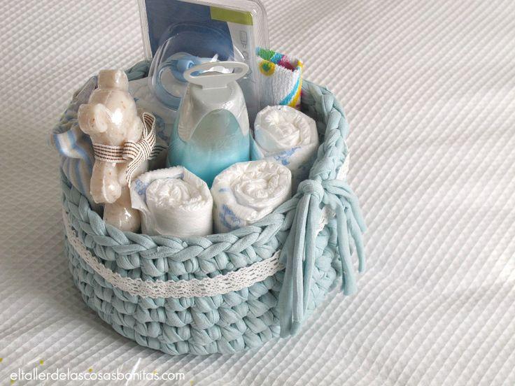 Cesta pañales para bebés * Trapillo * Baby