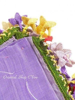 画像6: アイドゥン|アンティークオヤスカーフ|シルク糸|カラフル