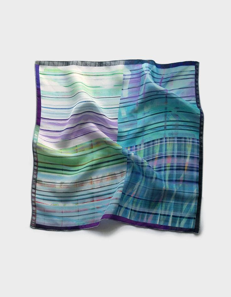 New to ImaPico on Etsy: Mens pocket square light blue pocket square silk handkerchief wedding waistcoat tuxedo hankie father husband valentine gifts for men (28.00 GBP)