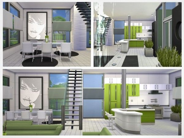 34 best SIMS 4 images on Pinterest Sims house, House blueprints - sims 3 wohnzimmer modern