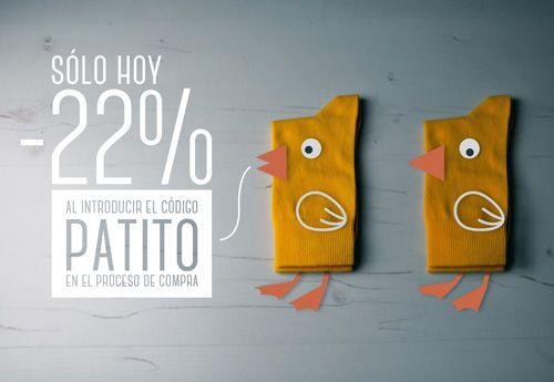 Descuento del 22% en calcetines sockaholic #socks #calcetines