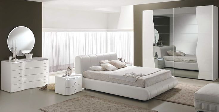 Modern Italian Bed / Bedroom Set Sax by Spar - $3,299.00