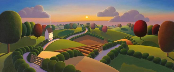 The Last Day Of Summer – 2013 - The Paul Corfield Collection - Art - Castle Galleries