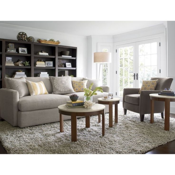 76 best Sofas images on Pinterest Crates, Living room ideas and - crate and barrel living room