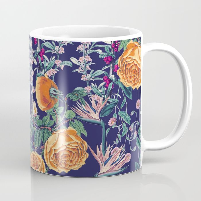 Buy Midnight Spring Coffee Mug by zala02creations. Worldwide shipping available at Society6.com. Just one of millions of high quality products available.