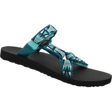 9b51a9134a9d4c Teva Universal Slide Sandals - Womens Mosaic Deep Teal