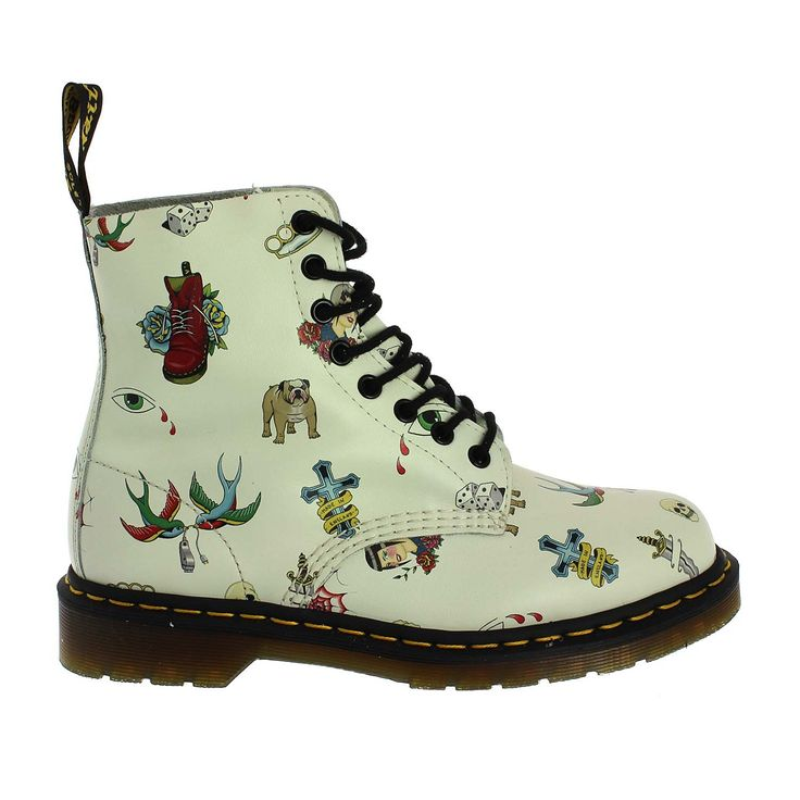 Dr.Martens Pascal Tattoo (1613OFFWHT)