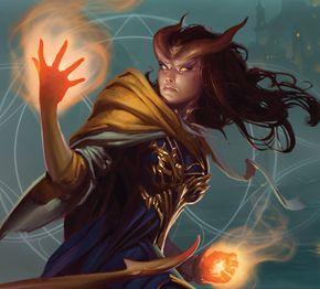 Tiefling warlock // Character Sheets | Dungeons & Dragons