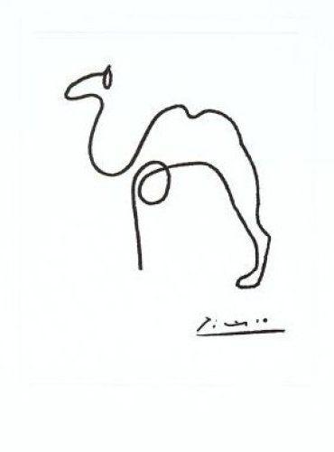 Dessins de Pablo Picasso         « Un chameau, c'est un cheval  dessiné  par une commission  d'experts. »     Francis Blanche      ...