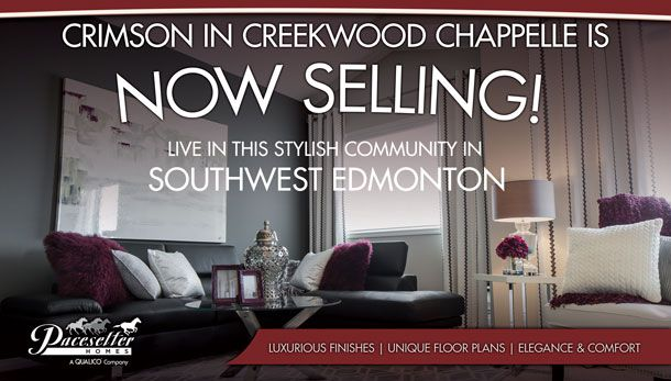 We are more than excited about the new community of Crimson in Creekwood…