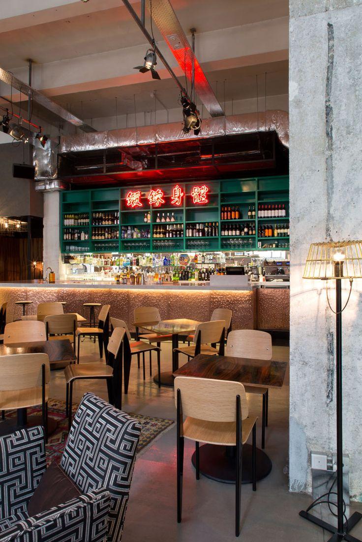 Ping Pong Gintonería Cafe interior, Chinese bar