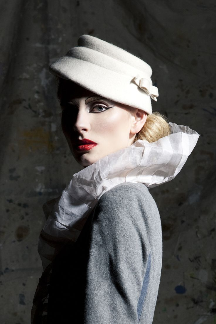 Harlequin Vintage Hat - Styled by Grainne Walsh