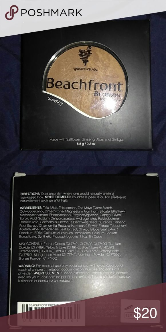 NWT Younique bronzer in sunset. New never used bronzer in the color sunset younique Makeup Bronzer