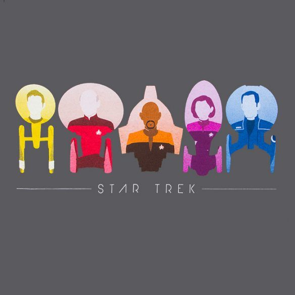 Star Trek Starfleet Captains Tee