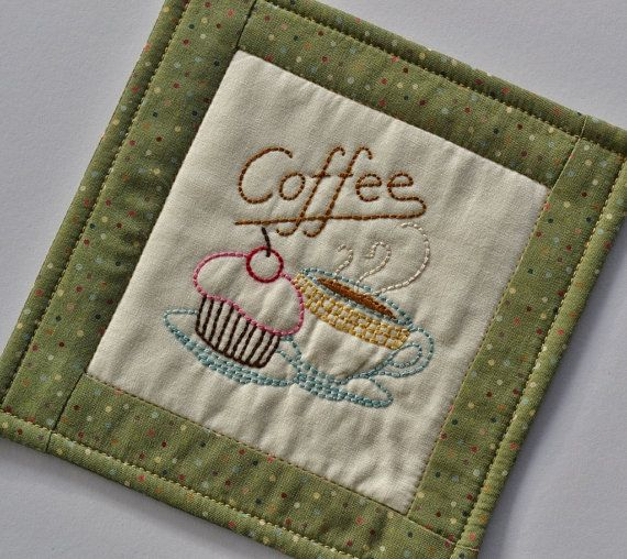 82 Best Images About Coffee Mug Rugs On Pinterest