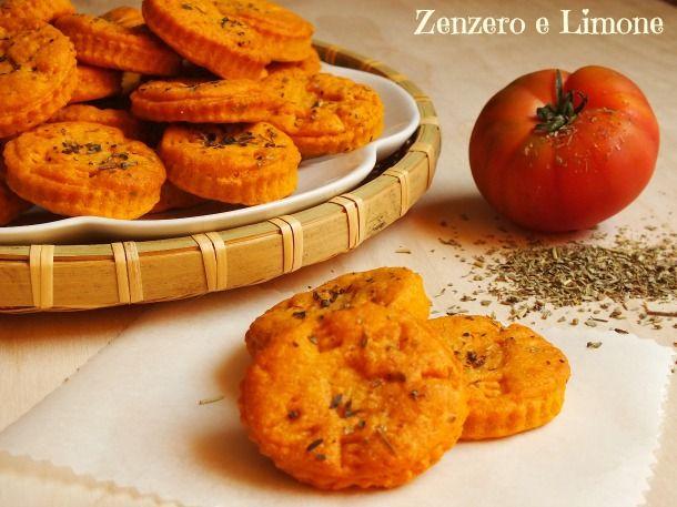 Biscotti gusto pizza - #pizza #cookie