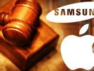Samsung owes Apple US$290m in damages, jury says A jury in San Francisco has decided that Samsung should pay Apple US$290 million in damages for its patent infringement, bringing the total award from Korea to Cupertino to around US$930 million.