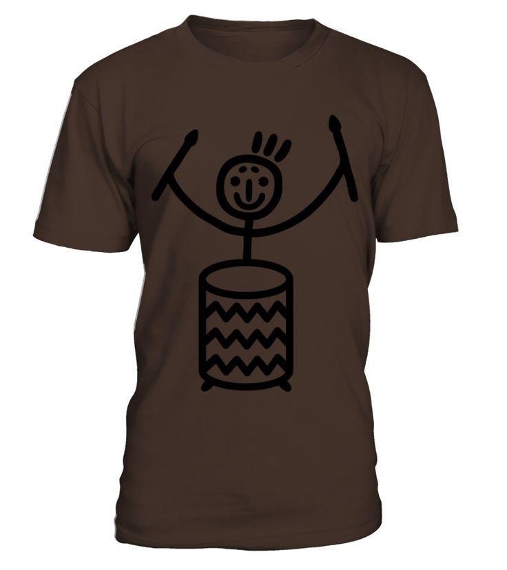 Stick figure with Samba drum Womens T Shirts  #gift #idea #shirt #image #music #guitar #sing #art #mugs