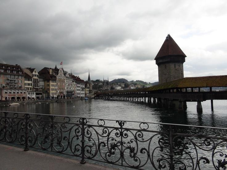Lucerne Tower Bridge https://www.facebook.com/CruiseDreams