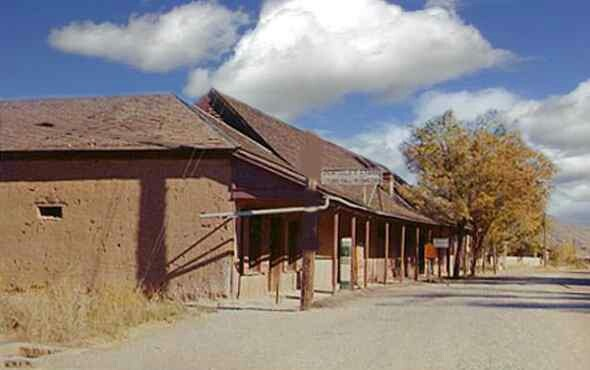 Tunstall's store in Lincoln N.M. His death started Billy the Kid in the Lincoln County War