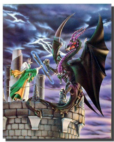 Storm Warning Dragon Wizard Fantasy Wall Decor Art Print ... https://www.amazon.com/dp/B008P8QU3K/ref=cm_sw_r_pi_dp_x_2Ll6xb5KVKJ8C