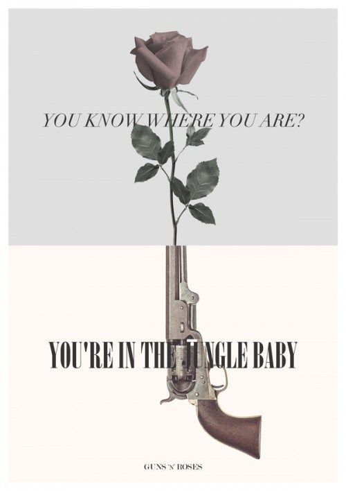 Welcome to the jungle - guns n roses
