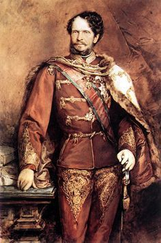 Count Gyula Andrassy by Gyula Benczur (Hungarian 1844-1920)