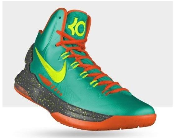 Wholesale Cheap Nike Kevin Durant Cheap sale 2013 KD V Orange Gr