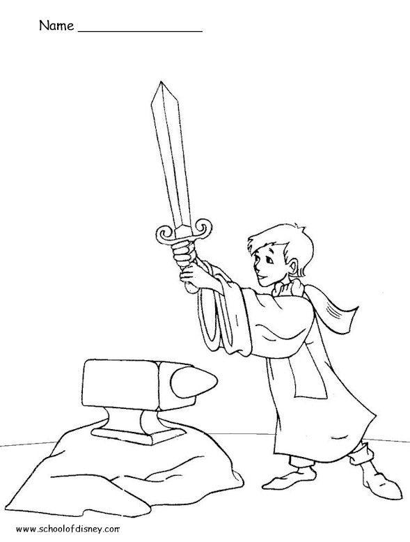 17 mejores imgenes de The Sword in the Stone en Pinterest