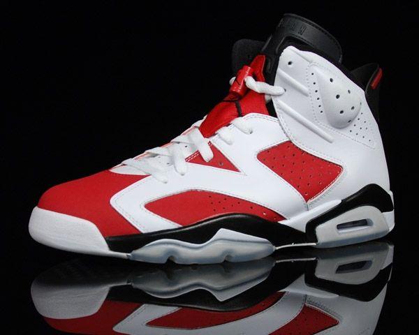 Air Jordan 6 - Carmine White / Carmine – Black will release on May