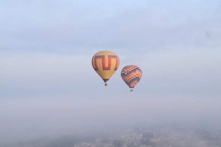 Vuelo en Globo por Teotihuacán #méxico #sky #flight  #travel