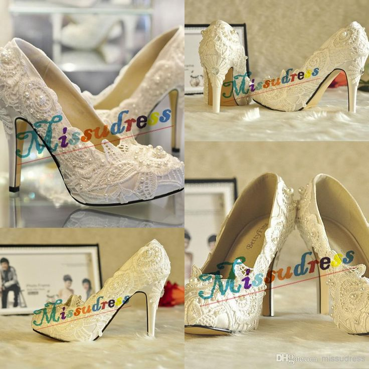 Wholesale cheap wedding shoes online, imitation pearl - Find best hotest lace wedding shoes charming personalized bridal shoes diamonds handcraft free shipping 2015 new collection at discount prices from Chinese wedding shoes supplier on DHgate.com.