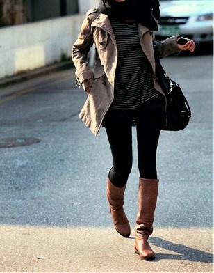 Fall clothesBlack Skinny, Winter, Style, Fall Outfits, Fall Winte, Fall Looks, Fall Fashion, Brown Boots, Trench Coats