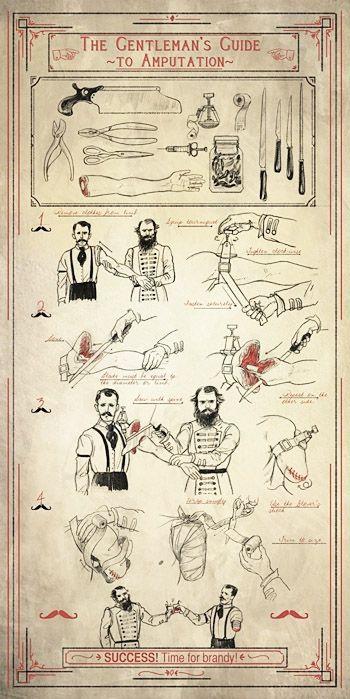 The Gentleman's Guide to Amputation | biblioklept