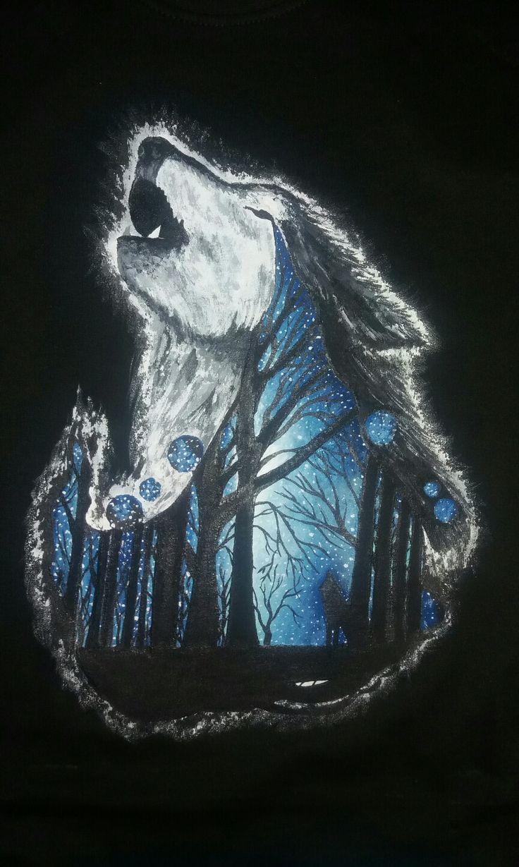 Tricko pro milovnici vlků