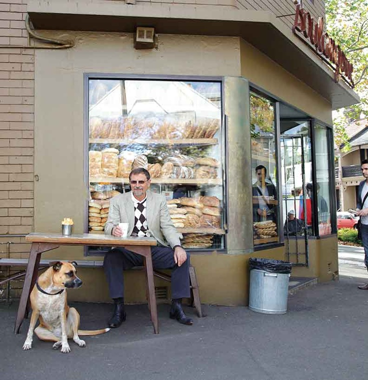 #Bourke Street #Bakery, Surry Hills - a #village where man's best #friend is welcome too!