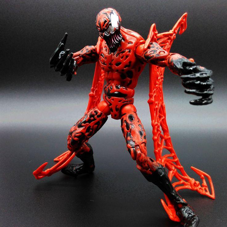 $20.86 (Buy here: https://alitems.com/g/1e8d114494ebda23ff8b16525dc3e8/?i=5&ulp=https%3A%2F%2Fwww.aliexpress.com%2Fitem%2FMarvel-15cm-Carnage-Action-Figure-Spider-Man-Red-Venom-Cletus-Kasady-Decoration-Toy-Model-PVC-Figurine%2F32654292117.html ) Marvel 15cm Carnage Action Figure Spider-Man Red Venom Cletus Kasady Decoration Toy Model PVC Figurine Free shipping for just $20.86