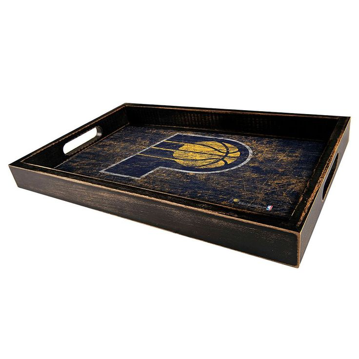 Indiana Pacers Distressed Serving Tray, Multicolor
