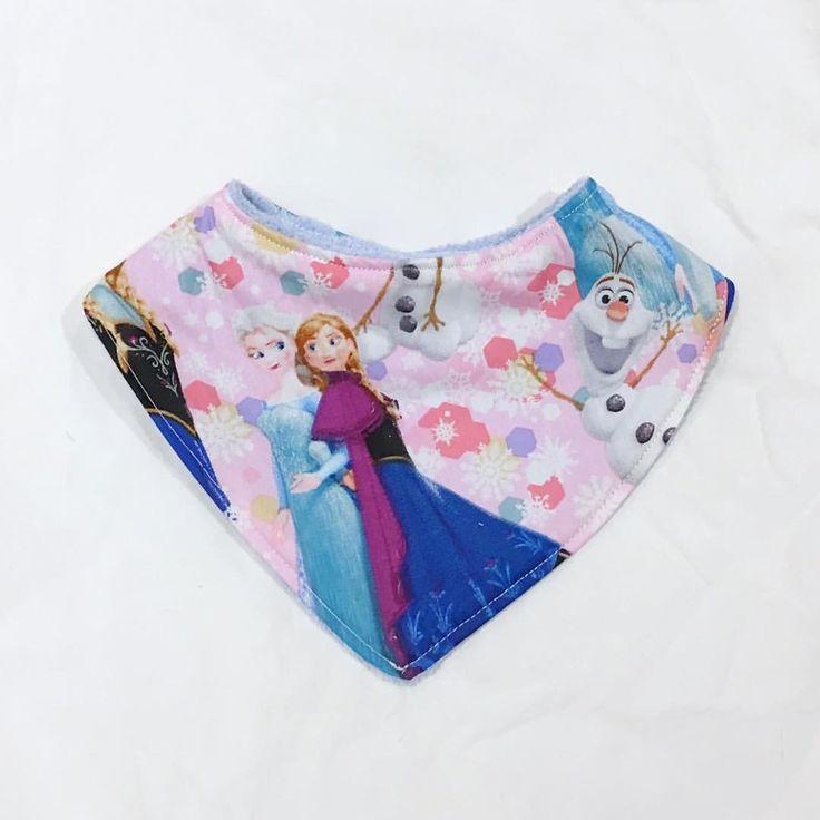 Frozen Bandana Bib www.etsy.com/au/shop/MummyGDub
